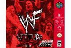 WWF Attitude (USA) Box Scan
